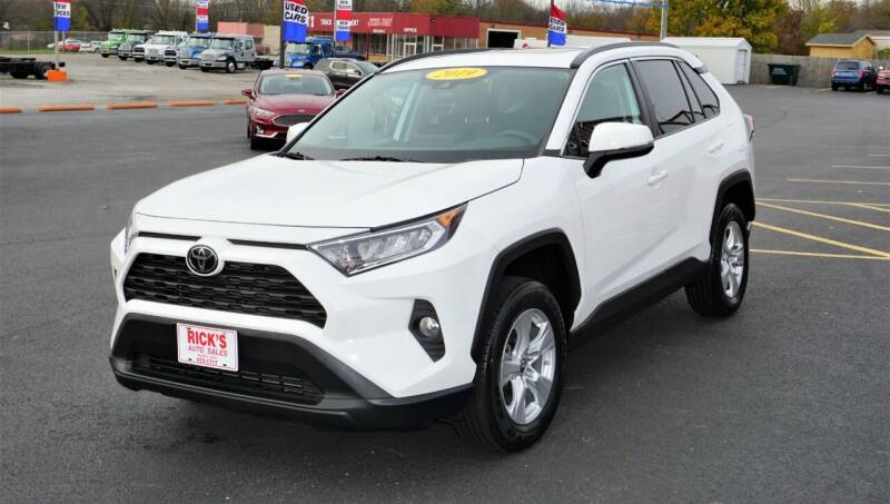 2019 Toyota RAV4 for sale at Ricks Auto Sales, Inc. in Kenton OH