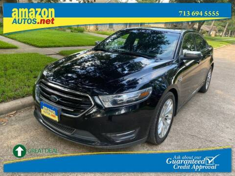 2017 Ford Taurus for sale at Amazon Autos in Houston TX