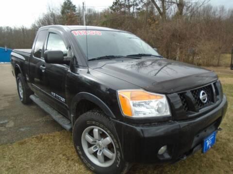 2012 Nissan Titan for sale at Michigan Auto Sales in Kalamazoo MI