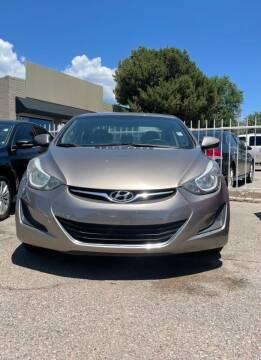 2016 Hyundai Elantra for sale at Top Gun Auto Sales, LLC in Albuquerque NM