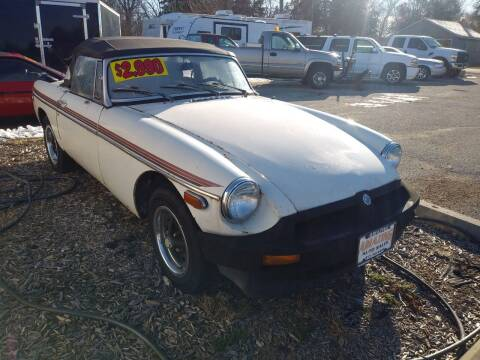 1979 MG MGB for sale at AMAZING AUTO SALES in Marengo IL