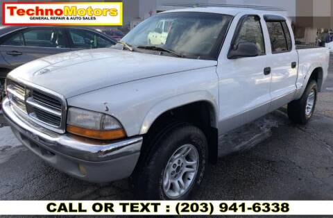 2001 Dodge Dakota for sale at Techno Motors in Danbury CT