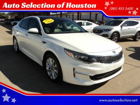 2018 Kia Optima for sale at Auto Selection of Houston in Houston TX