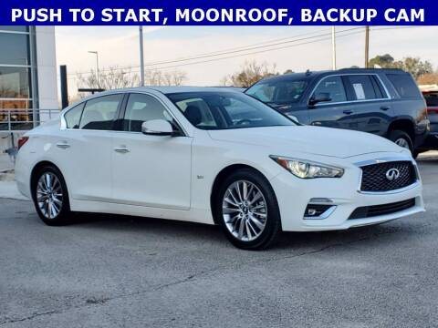 2020 Infiniti Q50 for sale at Stanley Ford Gilmer in Gilmer TX
