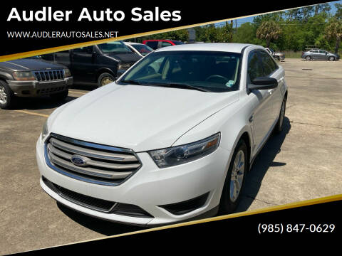 2013 Ford Taurus for sale at Audler Auto Sales in Slidell LA