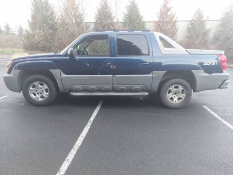 2002 Chevrolet Avalanche for sale at TOP Auto BROKERS LLC in Vancouver WA