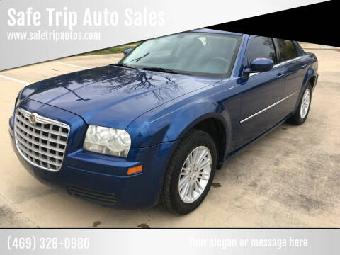 2009 Chrysler 300 for sale at Safe Trip Auto Sales in Dallas TX