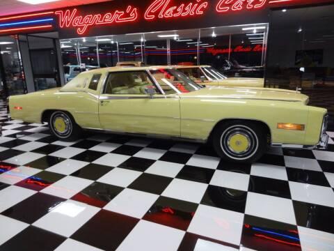1978 Cadillac Eldorado for sale at Wagner's Classic Cars in Bonner Springs KS