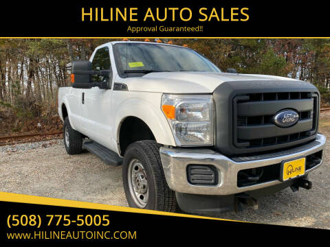 2016 Ford F-250 Super Duty for sale at HILINE AUTO SALES in Hyannis MA