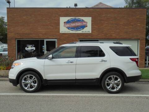 2015 Ford Explorer for sale at Eyler Auto Center Inc. in Rushville IL