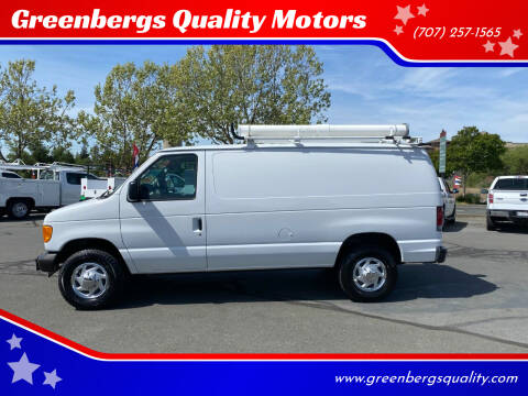 2006 Ford E-Series Cargo for sale at Greenbergs Quality Motors in Napa CA