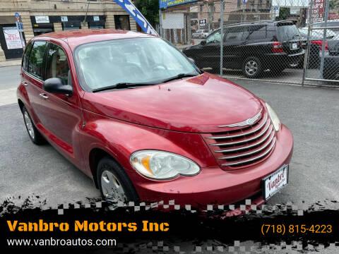 2007 Chrysler PT Cruiser for sale at Vanbro Motors Inc in Staten Island NY