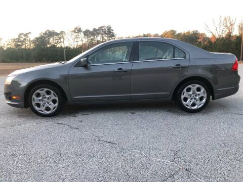 2010 Ford Fusion for sale at WIGGLES AUTO SALES INC in Mableton GA