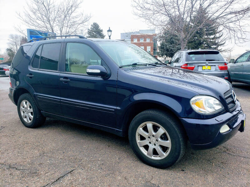 2004 Mercedes-Benz M-Class for sale at J & M PRECISION AUTOMOTIVE, INC in Fort Collins CO