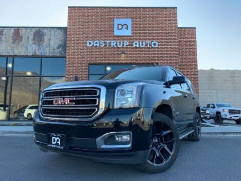 2015 GMC Yukon for sale at Dastrup Auto in Lindon UT