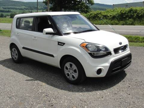 2012 Kia Soul for sale at Turnpike Auto Sales LLC in East Springfield NY