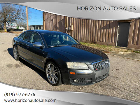 2007 Audi S8 for sale at Horizon Auto Sales in Raleigh NC