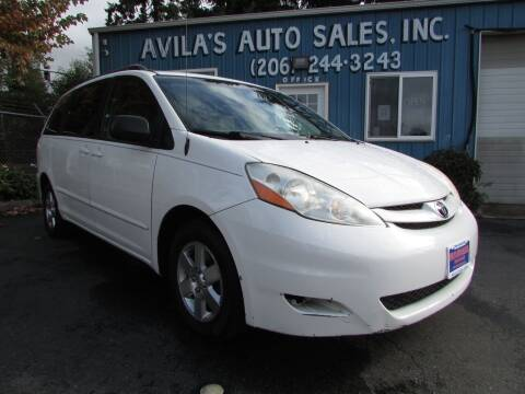 2006 Toyota Sienna for sale at Avilas Auto Sales Inc in Burien WA