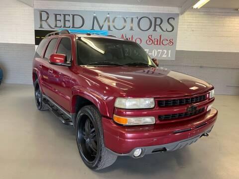 2004 Chevrolet Tahoe for sale at REED MOTORS LLC in Phoenix AZ