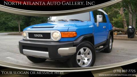 2007 Toyota FJ Cruiser for sale at North Atlanta Auto Gallery, Inc in Alpharetta GA