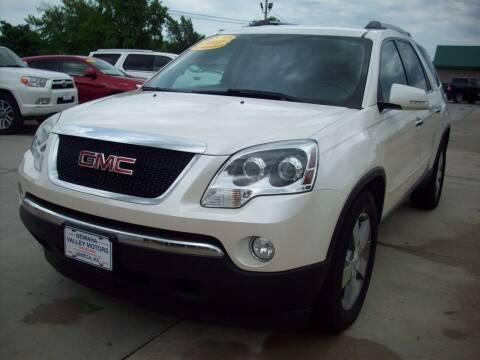 2011 GMC Acadia for sale at Nemaha Valley Motors in Seneca KS