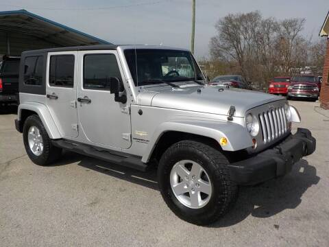 2007 Jeep Wrangler Unlimited for sale at C & C MOTORS in Chattanooga TN