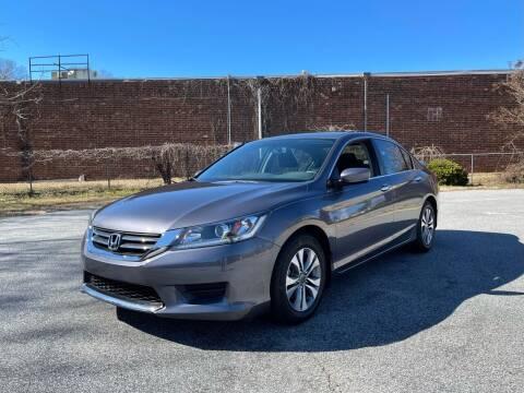 2014 Honda Accord for sale at RoadLink Auto Sales in Greensboro NC