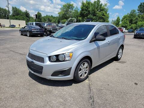 2012 Chevrolet Sonic for sale at Cruisin' Auto Sales in Madison IN