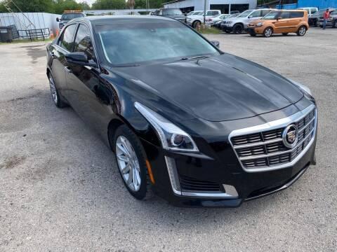 2014 Cadillac CTS for sale at HALEMAN AUTO SALES in San Antonio TX