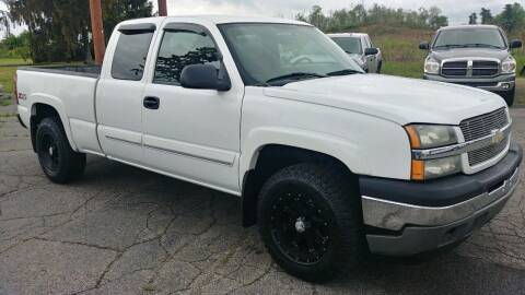 2005 Chevrolet Silverado 1500 for sale at AutoBoss PRE-OWNED SALES in Saint Clairsville OH