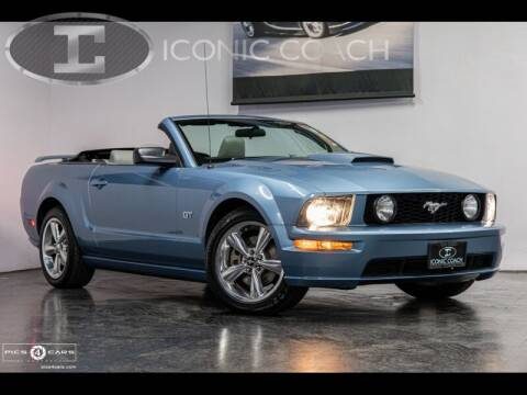 2007 Ford Mustang for sale at Iconic Coach in San Diego CA