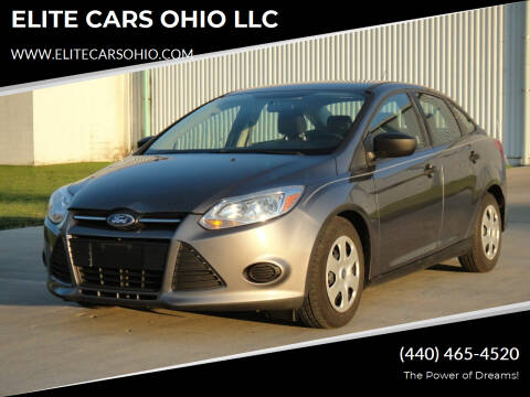 2014 Ford Focus for sale at ELITE CARS OHIO LLC in Solon OH