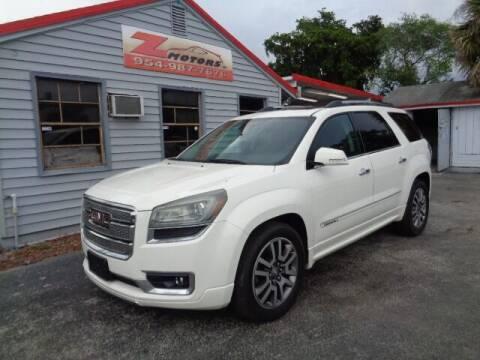 2014 GMC Acadia for sale at Z Motors in North Lauderdale FL