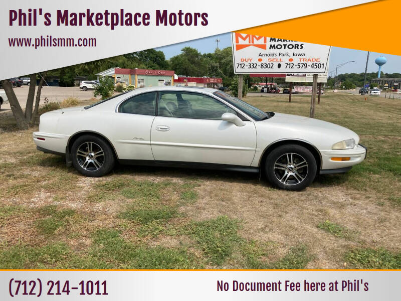 used 1999 buick riviera for sale carsforsale com used 1999 buick riviera for sale