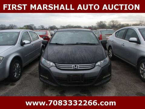 2011 Honda Insight for sale at First Marshall Auto Auction in Harvey IL