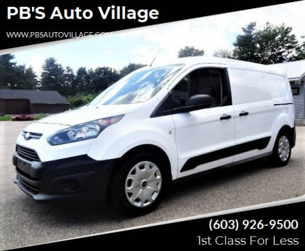 2016 Ford Transit Connect Cargo for sale at PB'S Auto Village in Hampton Falls NH