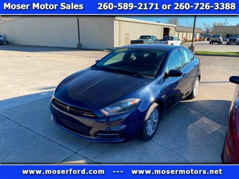 2014 Dodge Dart for sale at Moser Motors Of Portland in Portland IN