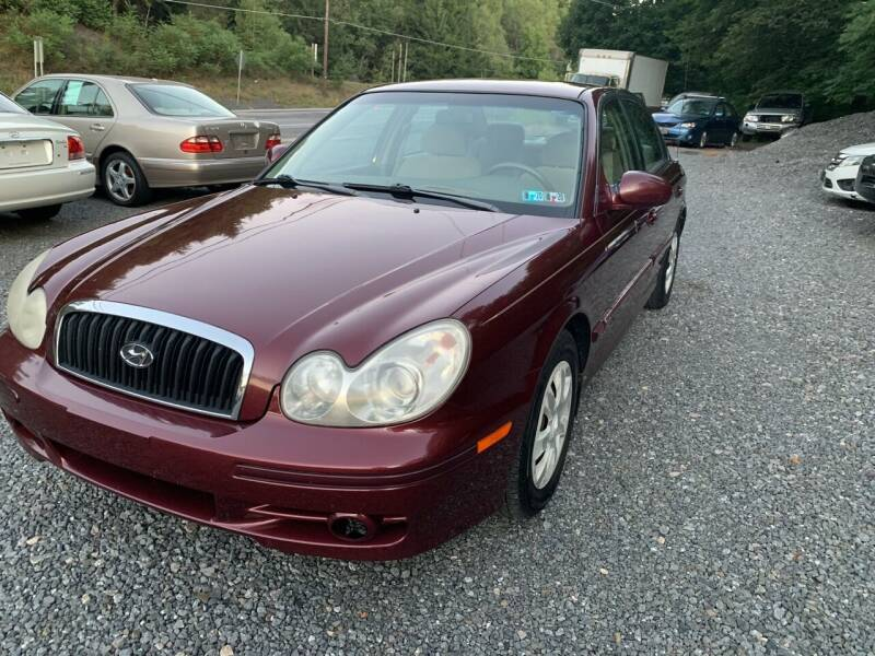 2002 Hyundai Sonata for sale at JM Auto Sales in Shenandoah PA