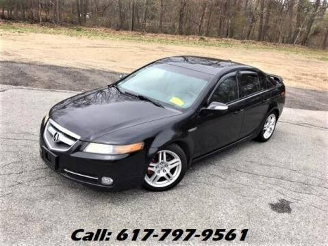 2008 Acura TL for sale at Wheeler Dealer Inc. in Acton MA