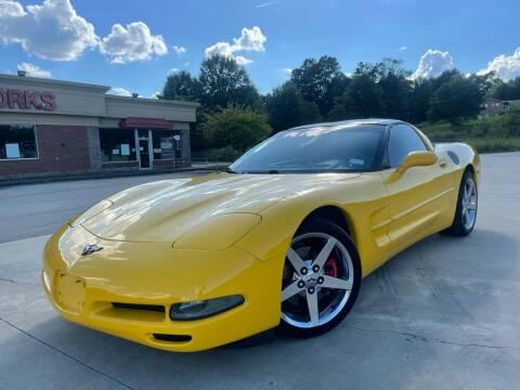 2001 Chevrolet Corvette for sale at Gwinnett Luxury Motors in Buford GA