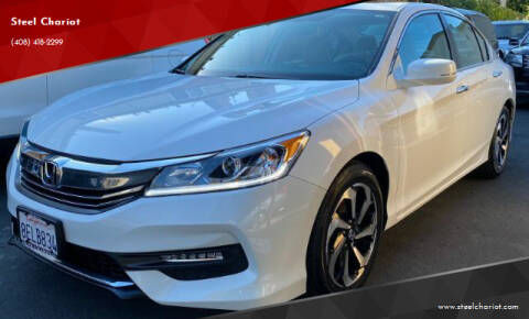 2016 Honda Accord for sale at Steel Chariot in San Jose CA