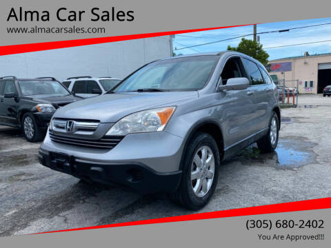 2008 Honda CR-V for sale at Alma Car Sales in Miami FL