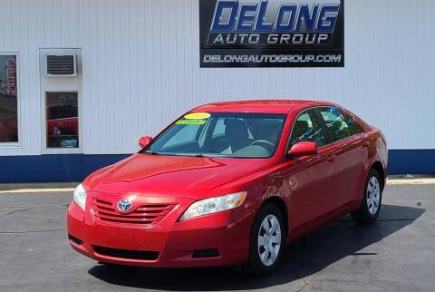 2009 Toyota Camry for sale at DeLong Auto Group in Tipton IN