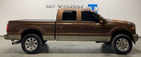 2012 Ford F-250 Super Duty for sale at Indy Wholesale Direct in Carmel IN