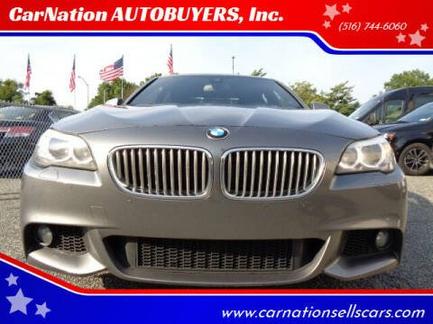 2013 BMW 5 Series for sale at CarNation AUTOBUYERS, Inc. in Rockville Centre NY