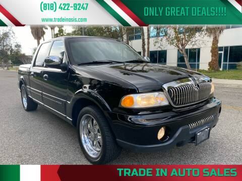 2002 Lincoln Blackwood for sale at Trade In Auto Sales in Van Nuys CA