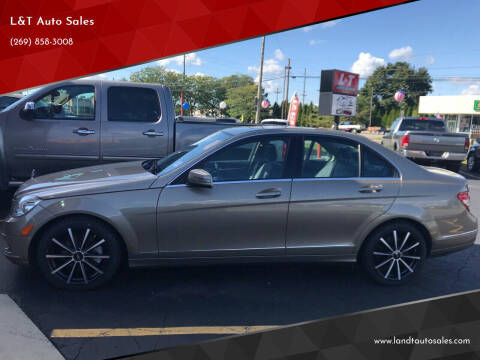 2010 Mercedes-Benz C-Class for sale at L&T Auto Sales in Three Rivers MI