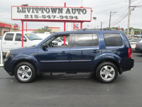 2013 Honda Pilot for sale at Levittown Auto in Levittown PA