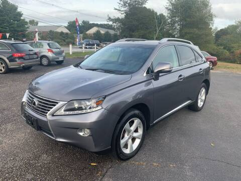 2013 Lexus RX 350 for sale at Lux Car Sales in South Easton MA