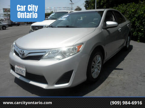 2012 Toyota Camry for sale at Car City Ontario in Ontario CA